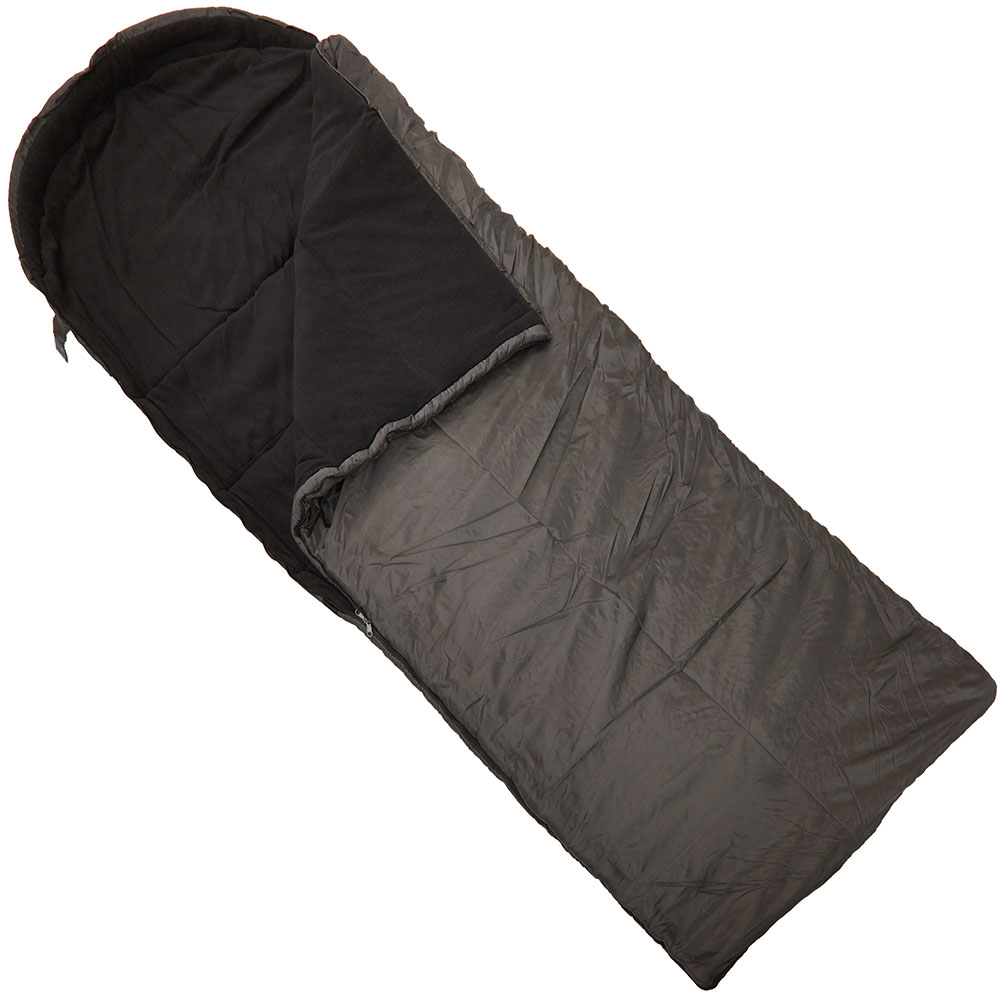 3 Season Micro Fibre Fleece Lined Sleeping Bag Ngt