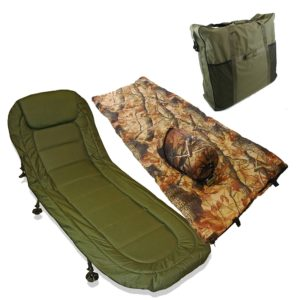 Ngt Carp Fishing Bedchair Bed Chair With 6 Adjustable Legs